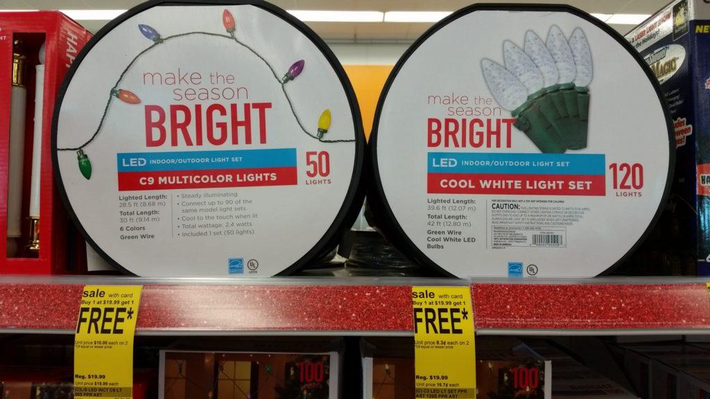 Christmas Lights Bogo At Walgreens Through 11 11 Hurry