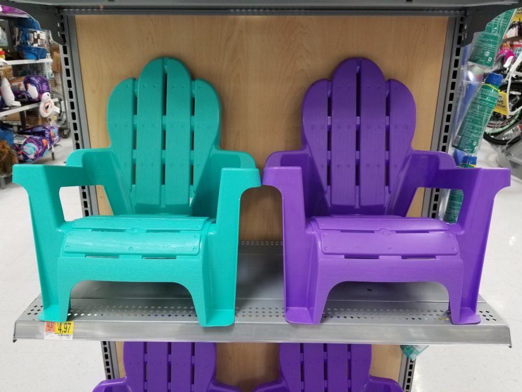 Kids Adirondack Chair Only 4 97 At Walmart Holiday